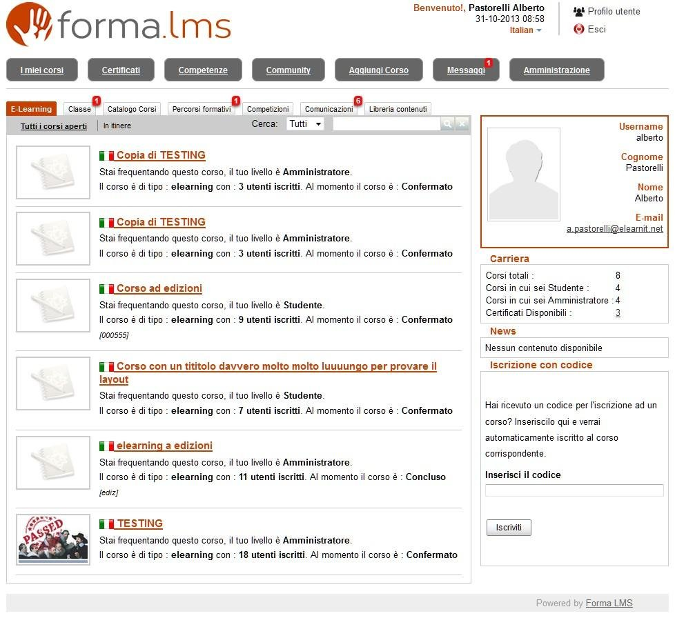 Forma LMS Demo