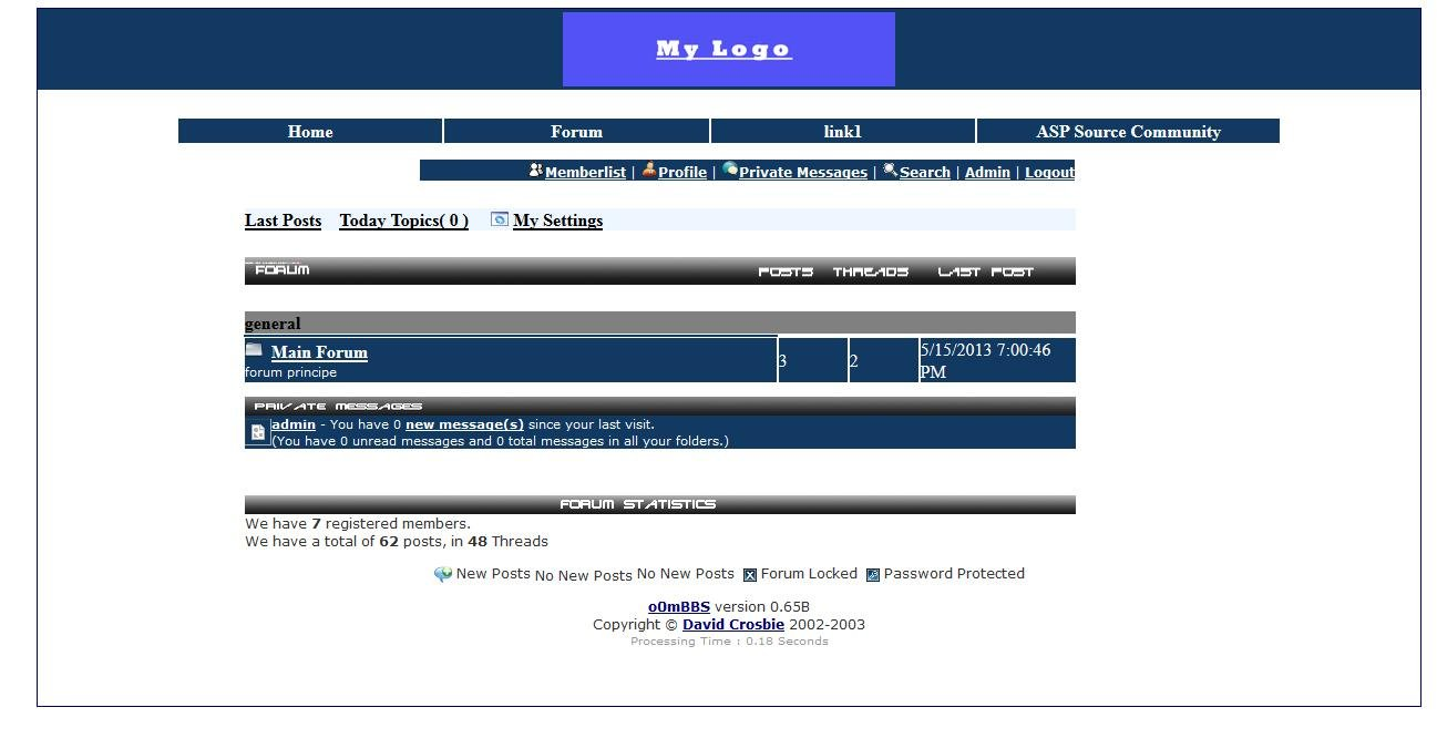 Simple ASC CMS Demo Page