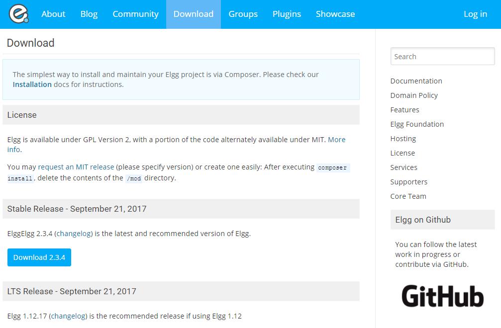 Elgg dating website
