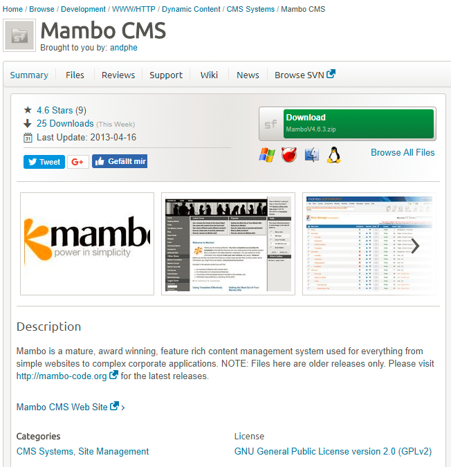cms examples