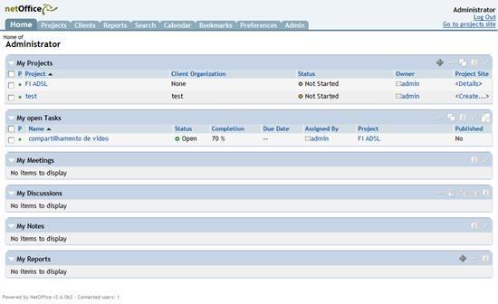 NetOffice Admin Demo