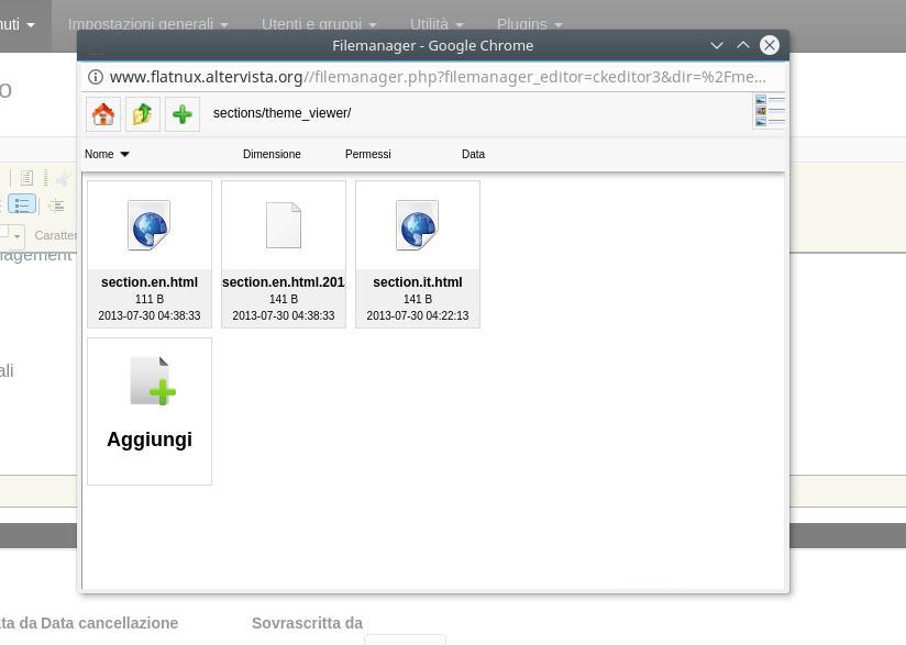 Flatnux CMS Admin Demo