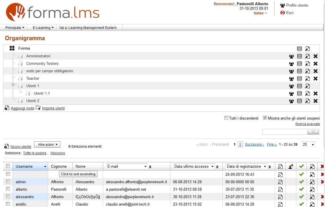 Forma LMS Admin Demo