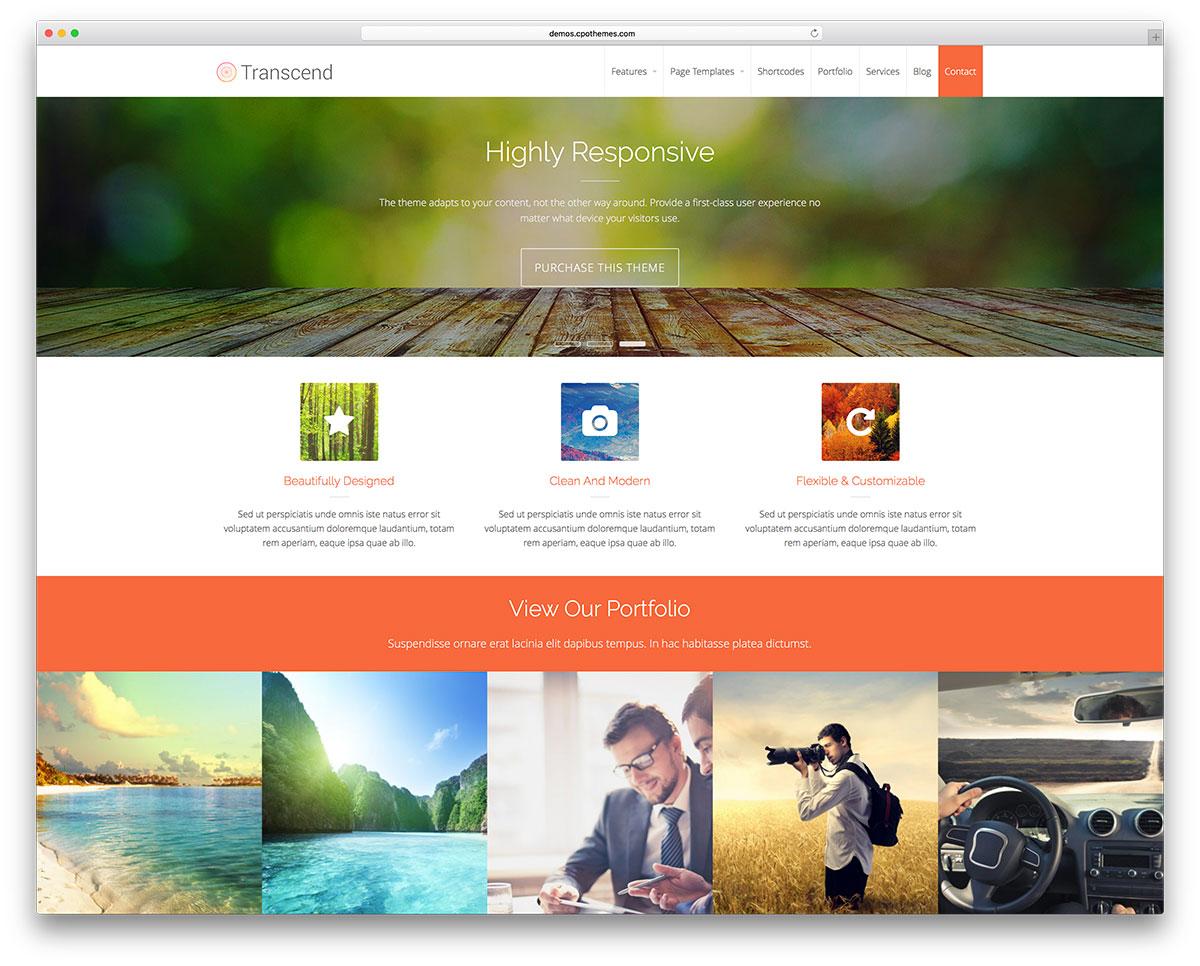 Wordpress Theme Preview