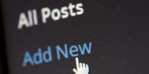 wordpress add posts cms